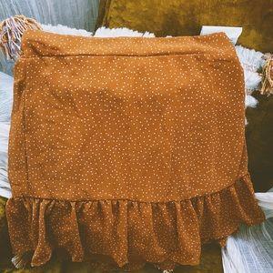 Cotton on ruffle skirt